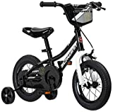 Schwinn Koen Boys Bike for Toddlers and Kids, 12-Inch Wheels, Black