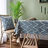 XXDD Mantel Rectangular Mantel de Lino Restaurante decoración de la Cocina del hogar Fiesta Mantel de Boda A3 140x160cm