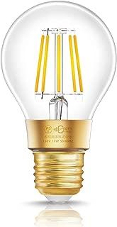 ドリスショップ WIFI スマート LEDフィラメント電球 E26口金 80W形相当 電球色 調光タイプ Amazon Echo&Google Home対応 スマホ操作 声音コントロール ハブ不要 1個入
