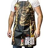 walking dead bbq - Walking Dead Zombie Torso Walker Print Apron
