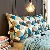 Headboard Cushion cuscino a cuneo Comodino cuscino grande letto matrimoniale tatami testata letto morbido cuscino schienale cuscino triangolo cuscino vita semplice moderno sfoderabile e lavabile Prote