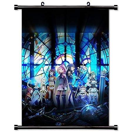 3864 Anime Puella Magi Madoka Magica wall Poster Scroll