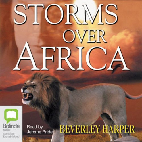 Storms over Africa audiobook cover art