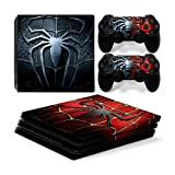 Funky Planet Playstation 4 Pro PS4 PRO Adesivi per pelli in PVC per console e pastiglie - Ridimensionare il tuo PS4 Pro (spiderman)