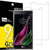 NEW'C 2 Stück, Schutzfolie Panzerglas für LG Zero, Frei von Kratzern, 9H Festigkeit, HD Bildschirmschutzfolie, 0.33mm Ultra-klar, Ultrawiderstandsfähig