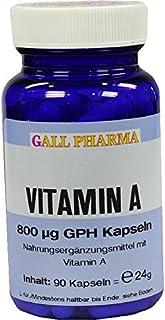 GALL PHARMA Vitamin A 800 µg GPH Kapseln. 90 pzas Cápsulas