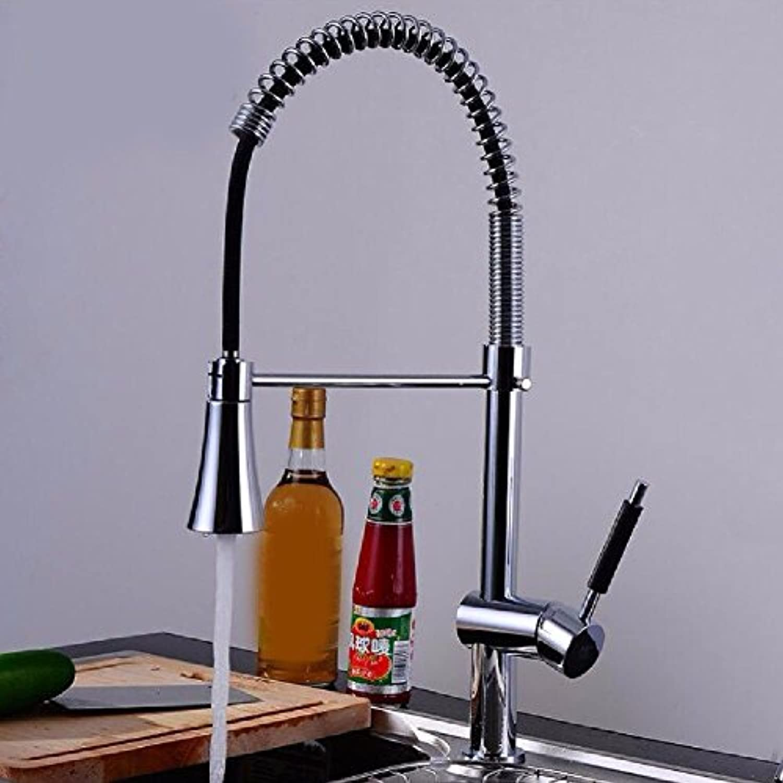 Gyps Faucet Waschtisch-Einhebelmischer Waschtischarmatur BadarmaturDie Spüle Wasserhahn Schüssel Waschbecken wasserhahn Feder Mischbatterie mit Duschkopf gedreht werden kann,Mischbatterie Waschbecken