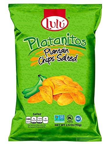Lulu Salted Plantain Chips Snacks Whole Healthy - Animer and price revision Vegan 2. Foods Lowest price challenge
