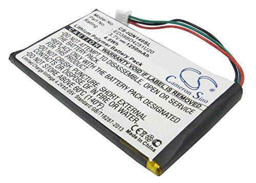 Batería por GARMIN NUVI 1490, 3.7V, 1250mAh, Li-Pol