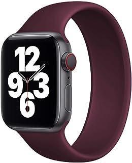 seria 6 543 pasek do zegarka sportowa pętla do zegarka seria 6 SE 44 mm 40 mm silikonowy pasek do zegarka IWO 6 5 4 3 44 m...