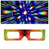 GloFX Paper Cardboard Diffraction Glasses –...