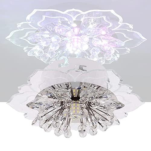 Lampada da soffitto a soffitto moderno a LED, lampada a sospensione a sospensione a 9W lampada a sospensione lampadario a sospensione o sala da pranzo camera da letto ( Color : B , Size : 20*5CM )