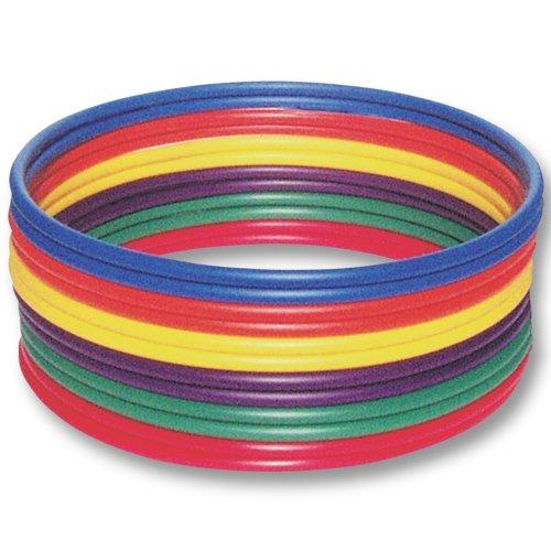 US Games Standard Hoops, 36-Inch (Pack of 12)