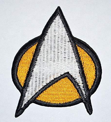Star Trek The Next Generation Crew Movie Collection Aufnäher zum Aufbügeln, bestickt