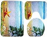 Cranky Orange Badgarnitur Set 3 teilig Blauer...