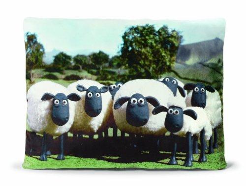 NICI - La Oveja Shaun, cojín rebaño de ovejas pintadas (34353)