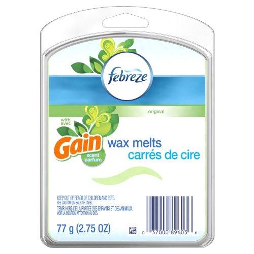Febreze Wax Melts - Gain Original Scent - 6 Wax Melts Per Package - Pack of...