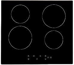 Plaque de Cuisson en Vitrocéramique 6000W Encastrable Table de cuisson Vitrocéramique 4..
