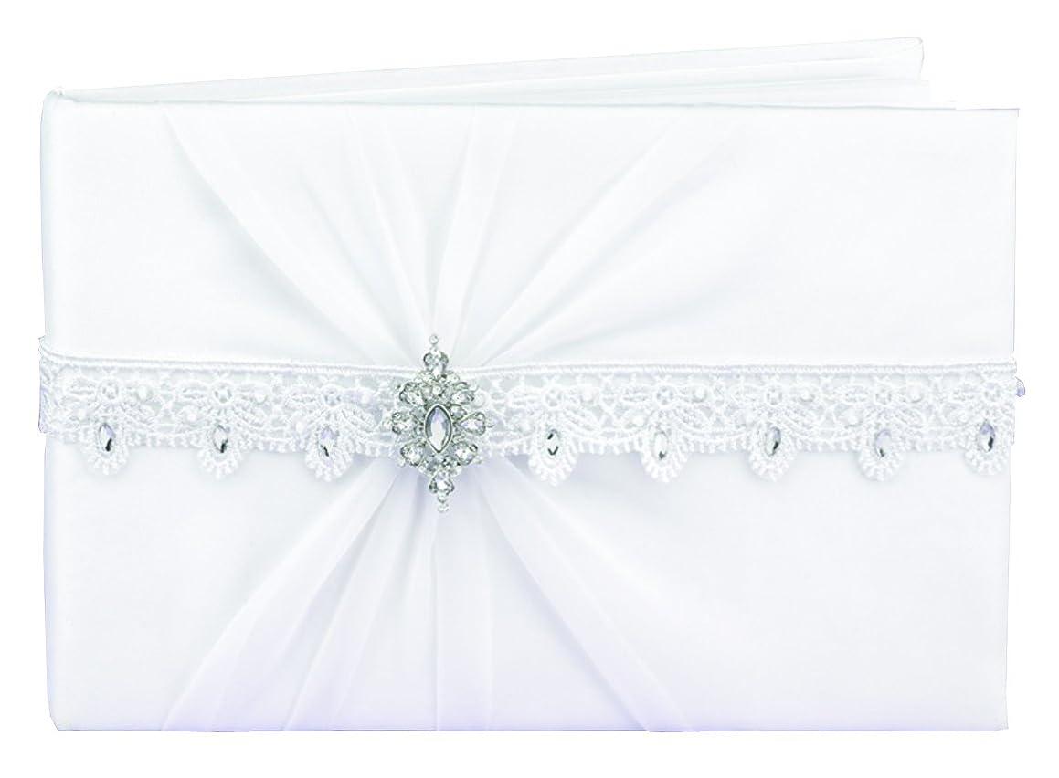 Hortense B. Hewitt Wedding Accessories Sparkling Elegance Guest Book, White