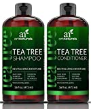 ArtNaturals Tea-Tree-Oil Shampoo and Conditioner Set - (2 x 16 Fl Oz / 473ml) – Sulfate Free –...