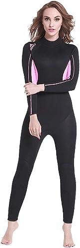 Costume de plongée Les dames une pièce maillot de bain chaud hiver crème solaire pantalon à hommeches longues hiver natation plongée profonde vêteHommests de surf costume plongée en apnée méduse vêteHommests