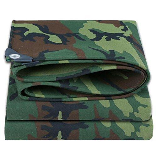 PJ Tente bâches Poncho Toile De Camouflage Épaissir Tissu Imperméable Canopée Tissu Oxford Tissu De Pluie De Plein Air Ombre Bâche 500g \ ㎡ (épaisseur 0.6MM) Il est largement utilisé