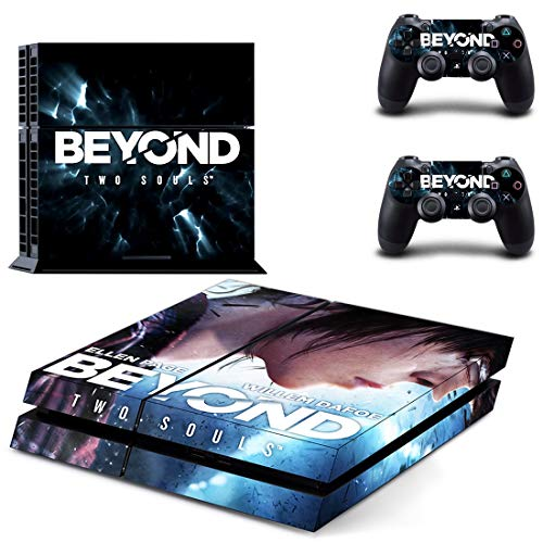 TSWEET Beyond Two Souls Decal Ps4 Skin Sticker Per Playstation 4 Ps4 Console Protezione Film+2 Pz Controller