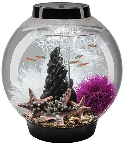 biOrb Classic 15 Aquarium Set Pebble - 4 Gallon, Black