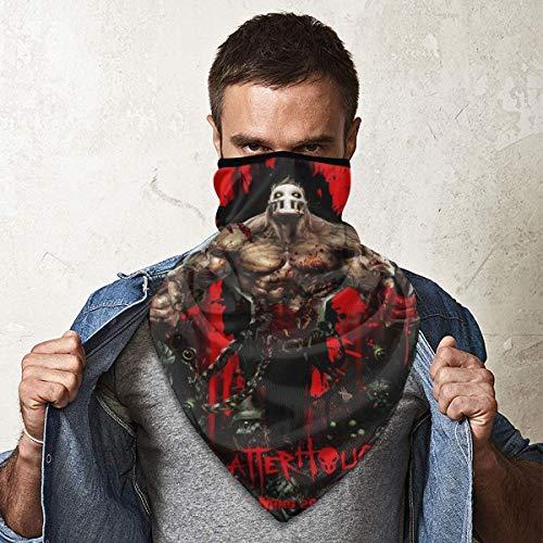 5-Finger-Death Got Your Six Men Women Soft Windproof Sports Mask Ski Mouth Face Mask Neck Gaiter Warmer Outdoor