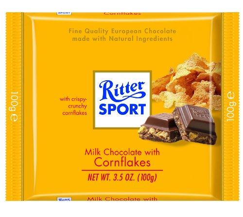 image of Ritter Sport Cornflake Milk Chocolate