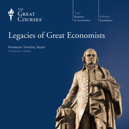 Legacies of Great Economists audiobook cover art