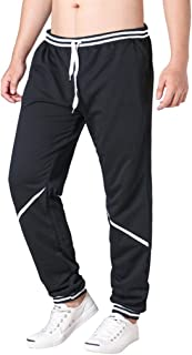 Wobuoke Fashion Mens Casual Loose Sport Plaid Pajama Pants Trousers