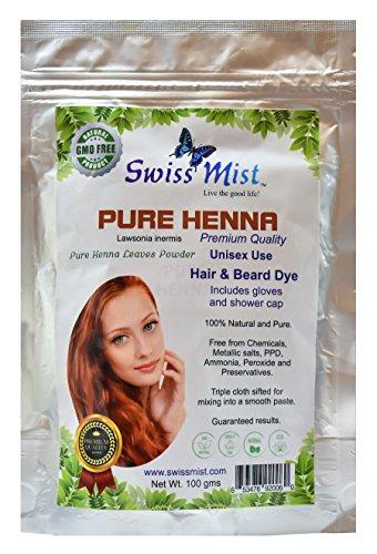 100 pure hair dye - 4