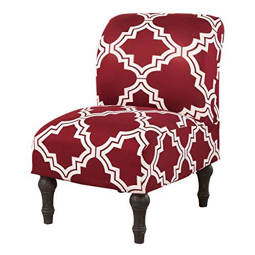 Dake Stuhlhussen Elastisch Stuhlbezüge Stretch Stuhlüberzug Abnehmbare Waschbar Stuhlbezug Dekoration Elegante Esszimmer Sitz Stuhl Abdeckungen #8