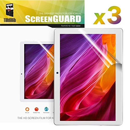 Dragon Touch K10 Displayschutzfolie Ultra-Clear von High Definition (HD) -3 Pack für Dragon Touch K10 10.1