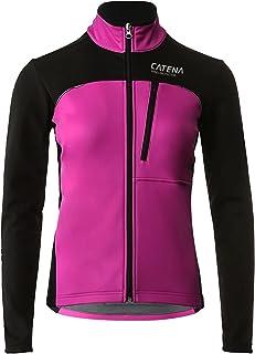 سترة نسائية مضادة للرياح من الصوف الحراري للركض وركوب الدراجات والدراجات الرياضية معاطف واقية دافئة للنساء