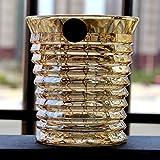 Sin plomo Cristal transparente Resistente al calor Cerveza Vaso de whisky Brandy Vodka Licor Esmalte doméstico Color Tawny Copa de vino Vaso