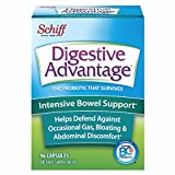 Intensive Bowel Support Probiotic Supplement - Digestive Advantage 96 Capsules, defends against...