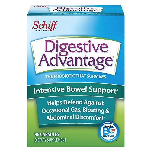 Digestive Advantage Intensive Bowel Support, 96 Capsules (Pack of 3)