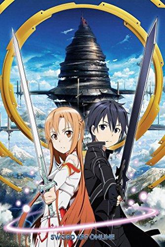 Sword Art Online SAO Anime Poster 24in x 36in