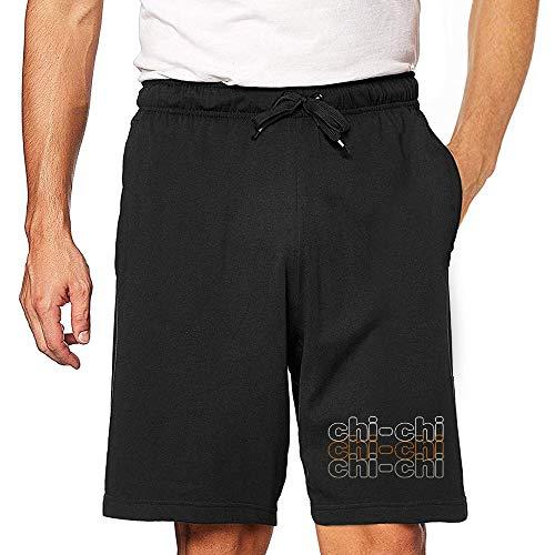 Eddany Chi Chi Retro Tricolor Embroidered Short L Black