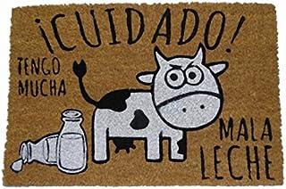 koko doormats Felpudo Coco-Mala Leche, 40 x 60 cm