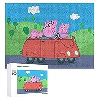 Peppa Pig ジグソーパズル 1000ピース 絵画 学生 子供 大人 向け 木製パズル TOYS AND GAMES おもちゃ(6歳以上が適しています)