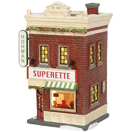 Department 56 A Christmas Story Village Hohman Superette Lit Building, 7.83 Inch, Multicolor