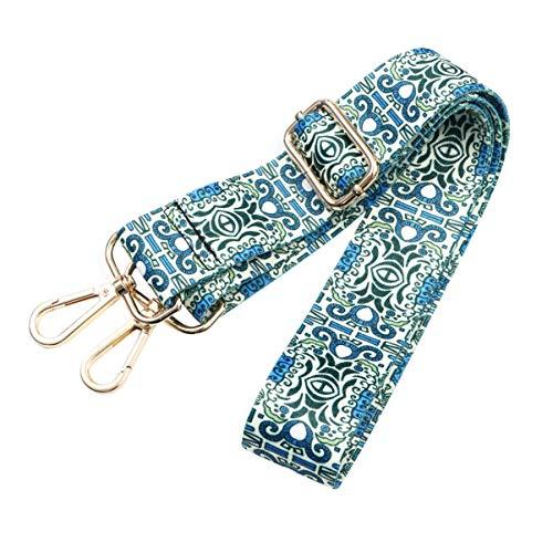 TENDYCOCO correa de bandolera cruzada de repuesto boho correa ajustable desmontable de moda correa ampliada para accesorios de correas de bolso