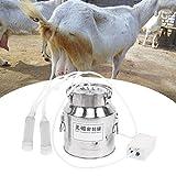 【𝐏𝐫𝐢𝐦𝐚𝒗𝐞𝐫𝐚 𝐕𝐞𝐧𝐝𝐢𝐭𝐚 𝐑𝐞𝐠𝐚𝐥𝐨】 Mungitrice elettrica, mungitrice elettrica domestica 14L regolabile in velocità per bovini da mucca o capra(UE, 220 V, Pecora)