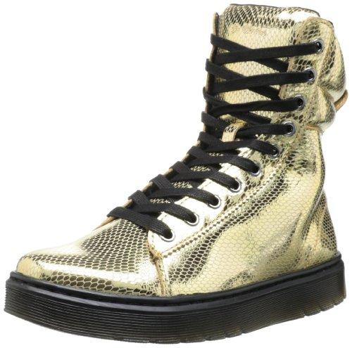 Dr. Martens Mix Gold/Mini metallic Snake, Größe:40