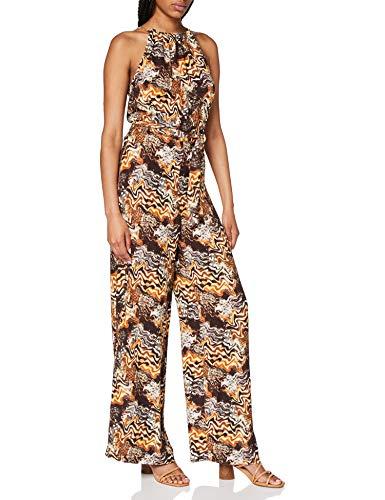 Mexx Damen Jumpsuit, Mehrfarbig (Printed 300092), (Herstellergröße: 44)