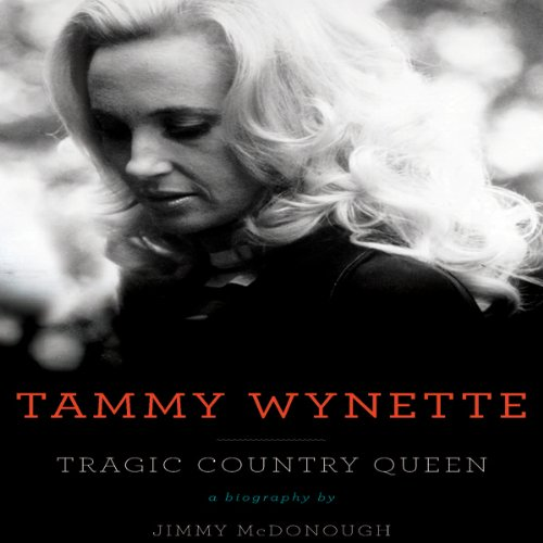 Tammy Wynette audiobook cover art