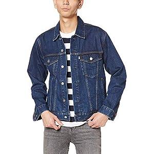 [エドウィン] デニムジャケット カジュアル メンズ 中色ブルー M